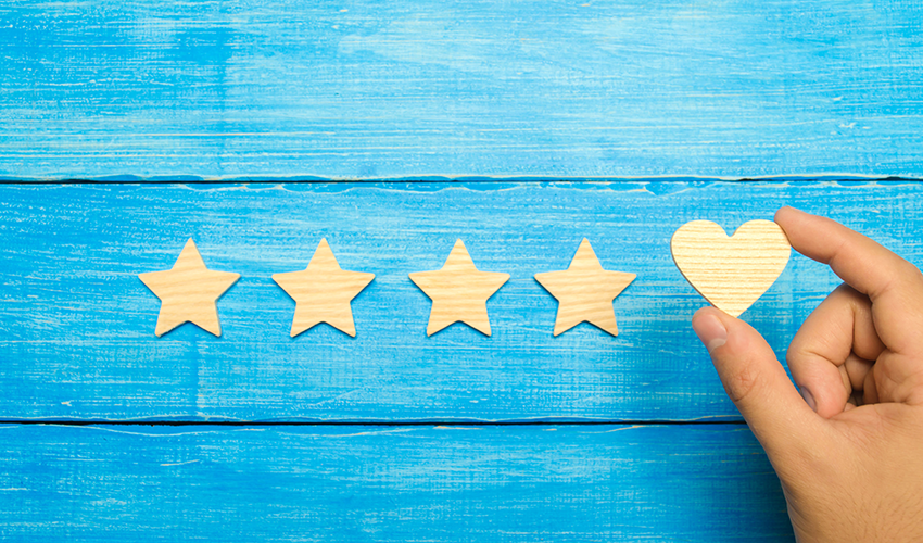 four stars for good service